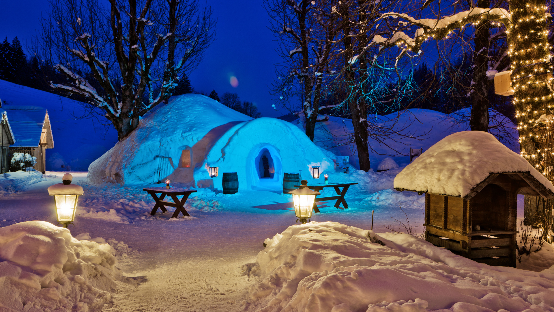 overnight at the igloo hotel bern tourism. Black Bedroom Furniture Sets. Home Design Ideas